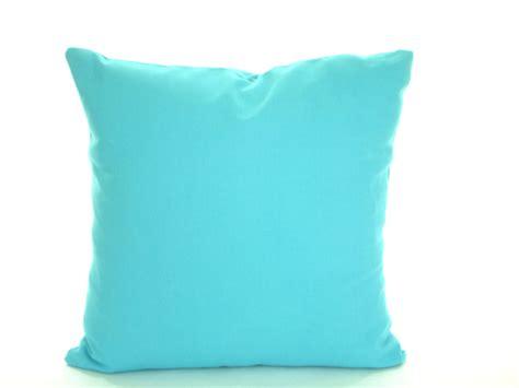 decorative blue pillows solid aqua blue pillow cover decorative throw pillow