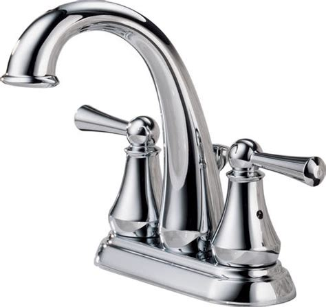 menards 4 bathroom faucets delta 174 lewiston 174 4 in 2 handle high arc bathroom sink