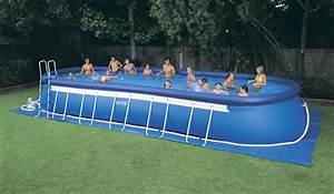 Grande Piscine Hors Sol : construire piscine hors sol grande taille ~ Premium-room.com Idées de Décoration