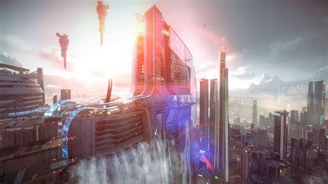 Futuristic City [4551 x 2560] : wallpapers