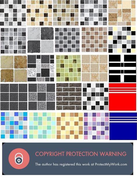 kitchen tile stickers transfers mosaic tile stickers transfers kitchen bathroom tiles 6280