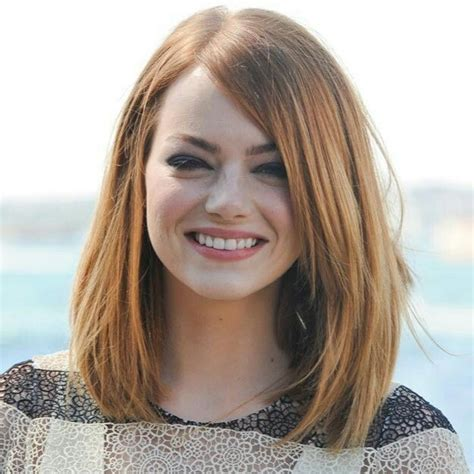 Emma Stone Long Bob Le Hair ° Long Hair Styles Hair