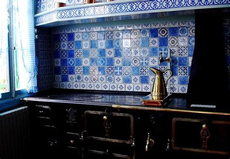 monet kitchen tiles 17 best images about blue white tiled kitchen on 4269