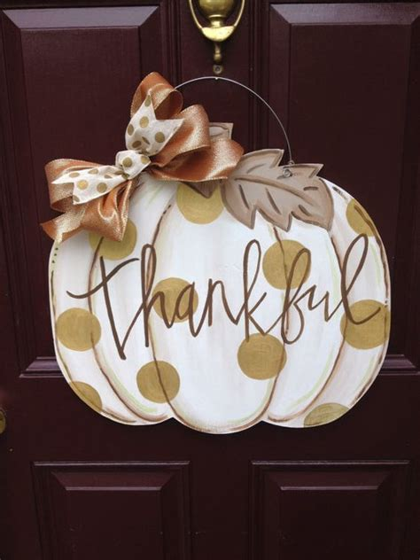 pumpkin door hanger 31 and simple fall door d 233 cor ideas shelterness