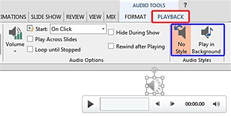 audio styles  powerpoint   windows