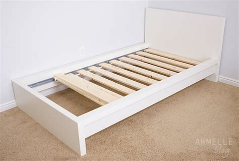 diy before and after ikea hack malm bed armelle blog