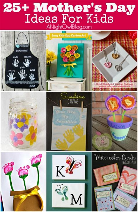 25 s day 25 mother s day crafts for kids a night owl blog bloglovin