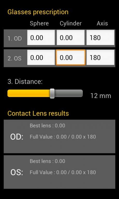 convert glasses prescription  contact lenses calculator image  glasses