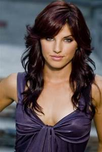 Dark Red Violet Brown Hair Color Hair And Beauty