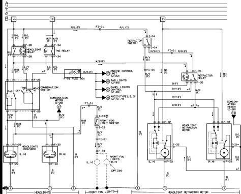 na miata ignition switch wiring diagram na free engine