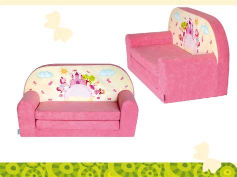 mini canap lit mini canapé lit enfant château rosefauteuils poufs matelas