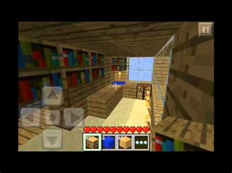 minecraft pe how to make a kitchen youtube