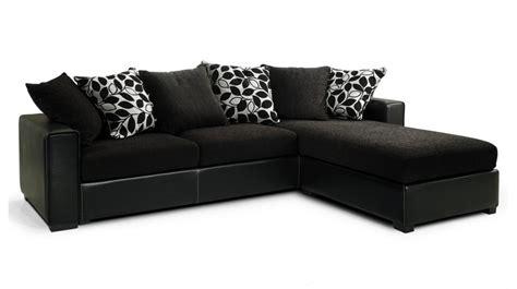 canapé angle noir pas cher canapé d 39 angle tissu noir pas cher canapé tissu