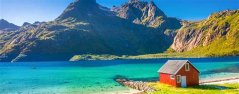 Häuser Urlaub by Norwegen Urlaub Am Fjord 8 Tage Im Idyllischen Angelhaus