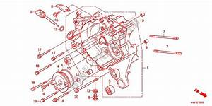 Right Crankcase For Honda Dio 110 2015   Honda Motorcycles