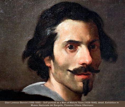 Gian Lorenzo Bernini (1598-1680) - Self-portrait as a Man ...