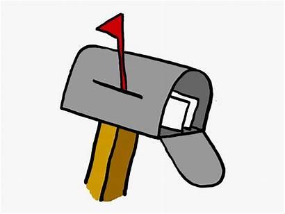 Mail Office Clipart Clip Mailbox Cartoon Posf