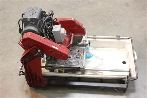 Mk100 Tile Saw Motor by Mk Mk 100 Tile Saw Property Room