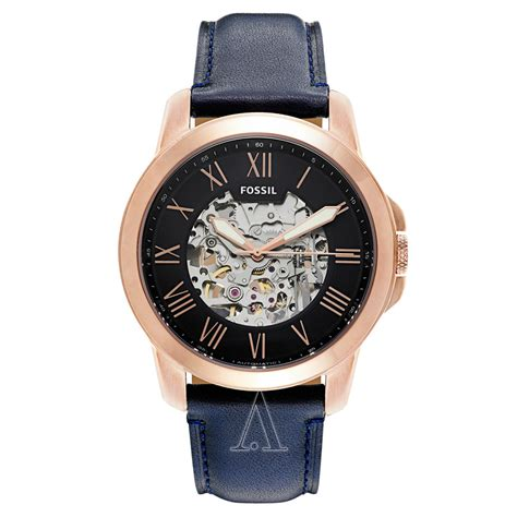 fossil grant gold fossil grant me3102 39 s watches