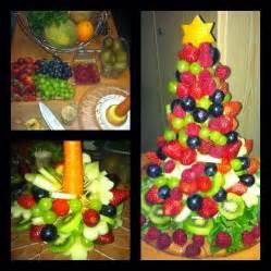 fresh fruits christmas tree mommy yah