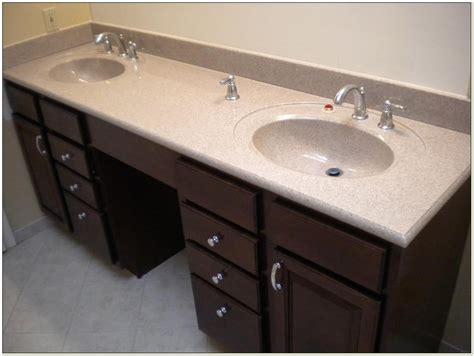 Double Sink Vanity Top Menards Sinks Home Design