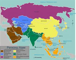 Asia Map Countries