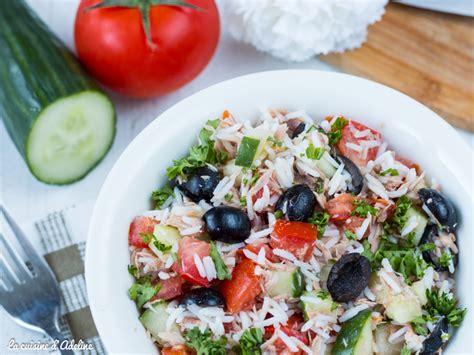 cuisine salade de riz salade de riz au thon facile et rapide la cuisine d 39 adeline