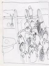 Escalator Getdrawings Drawing sketch template