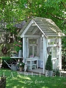 Gartenhaus Shabby Chic : garden houses old things newold things new projects pinterest g rten shabby und ~ Markanthonyermac.com Haus und Dekorationen