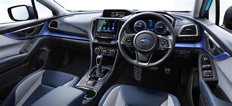 Subaru Xv Hybrid 2019 by 2019 Subaru Xv E Boxer Debuts In Japan With Toyota Prius