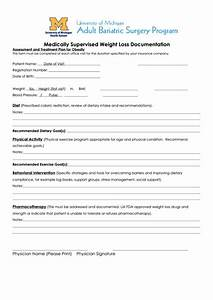 top 7 weight loss tracking sheets free to download in pdf With physician supervised weight loss program documentation