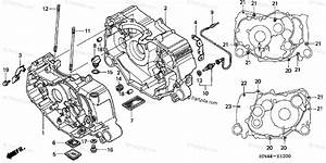 Honda Atv 2001 Oem Parts Diagram For Crankcase