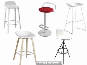 Chaise Pour Ilot Central : tabouret pour ilot central cuisine maison design ~ Dailycaller-alerts.com Idées de Décoration