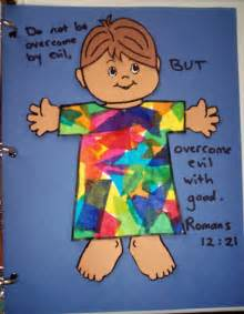 Joseph and Coat of Many Colors Craft