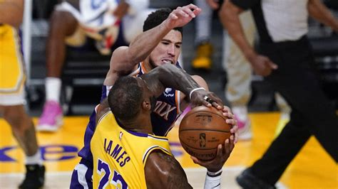 Suns vs Lakers Game 6: Booker drops 47, pounces on AD exit