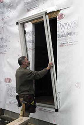 flashing  entry door jlc  exteriors siding