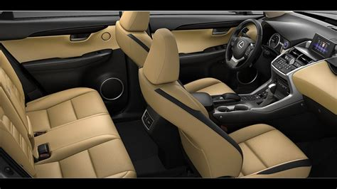 All New 2017 Lexus Nx 200t  Awesome Interior Youtube