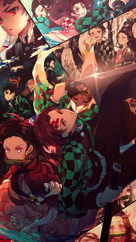 Kimetsu no yaiba 4k vertical wallpaper free to download created by syanart for the community. Anime Demon Slayer Phone Wallpapers - Wallpaper Cave