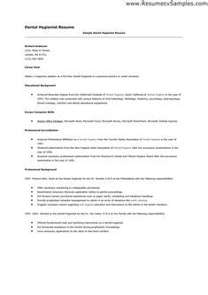 Dental Hygienist Cover Letter2  Recipes To Cook