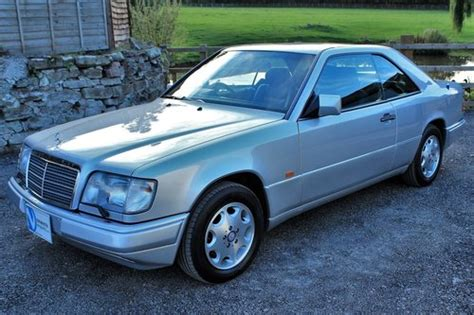 1995 mercedes e320 coupe 55 454 miles from new sold car and classic