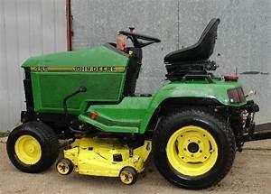 John Deere 415 455 Lawn Garden Tractor Service Repair