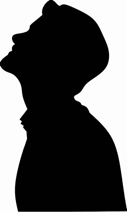 Face Silhouette Drawing Looking Thinking Male Pixabay