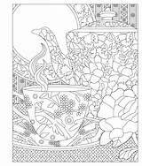 Coloring Pages Tea Party Invited Adult Elegant Re Amazon Laurie Enjoy Relax Books Colouring Adults Sheets Issuu Princess Printable Cup sketch template
