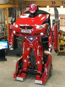 Transformer robot from a real car BMW | Earth Chronicles News