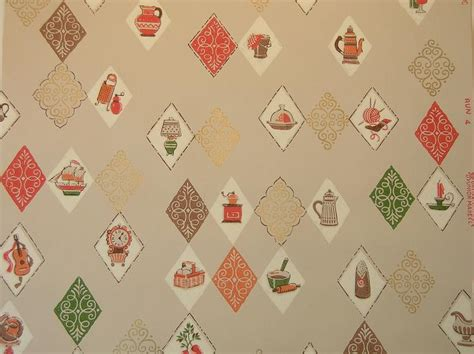 1940s bathroom design vintage wallpaper for your 50s kitchen and bath another
