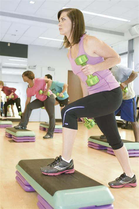 exercise  stock photo men  women performing