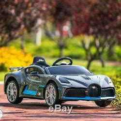 Meet the brand new bugatti divo, a 5 million euro track focused hypercar that will only ever see 40 examples hit the road, and guess what? Bugatti Divo Kids Ride On Car 12v Electric Vehicles With ...