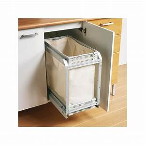 panier a linge coulissant tissu With porte d entrée alu avec panier linge salle bain