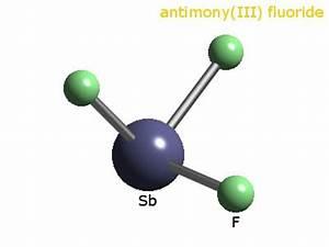 WebElements Periodic Table » Antimony » antimony trifluoride