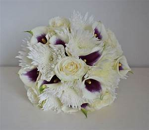 Spider Chrysanthemums and Callas Bouquet | Bouquet Wedding ...